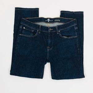 Seven For All Mankind Slimmy Straight Jeans